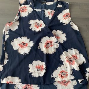 Ivanka Trump wrap front blouse